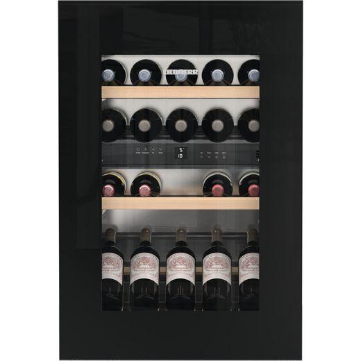 Liebherr EWTgb1683 Built In Wine Cooler - Black / Glass - G Rated