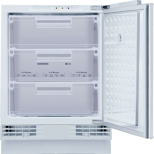 Siemens IQ-500 GU15DAFF0G Integrated Under Counter Freezer with Fixed Door Fixing Kit - F Rated