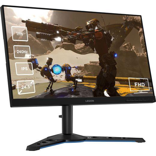 """Lenovo Legion Y25-25 Full HD 24.5"""" 240Hz Gaming Monitor with AMD FreeSync - Black"""