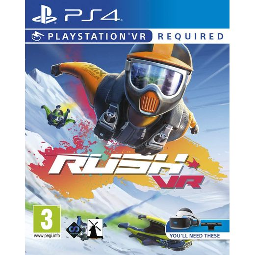 Rush VR for Sony PlayStation