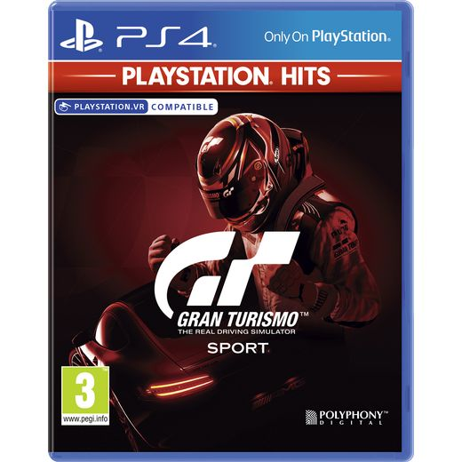 GT Sport Playstation Hits for Sony PlayStation