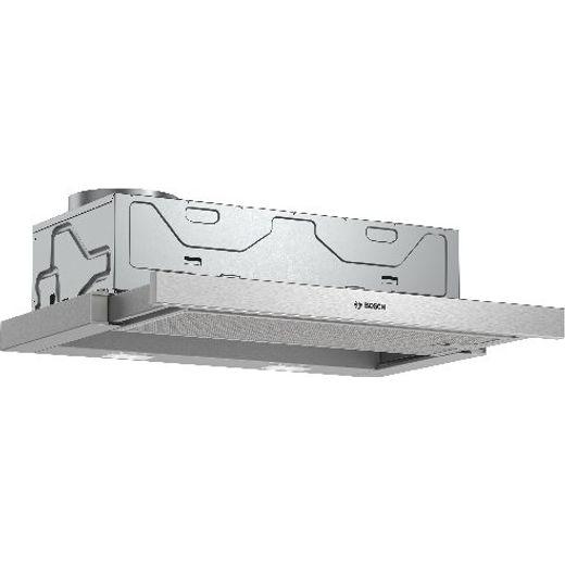 Bosch DFM063W56B Telescopic Cooker Hood - Silver - C Rated