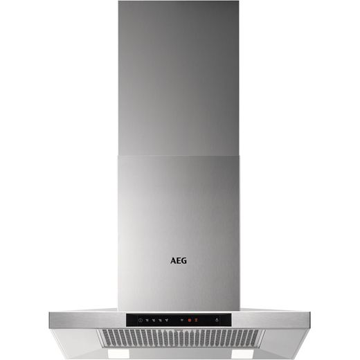 AEG DKB5660HM 60 cm Chimney Cooker Hood - Stainless Steel - A Rated