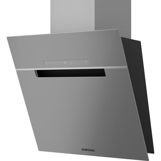 Samsung Chef Collection NK24M7070VS 60 cm Angled Chimney Cooker Hood - Stainless Steel - B Rated