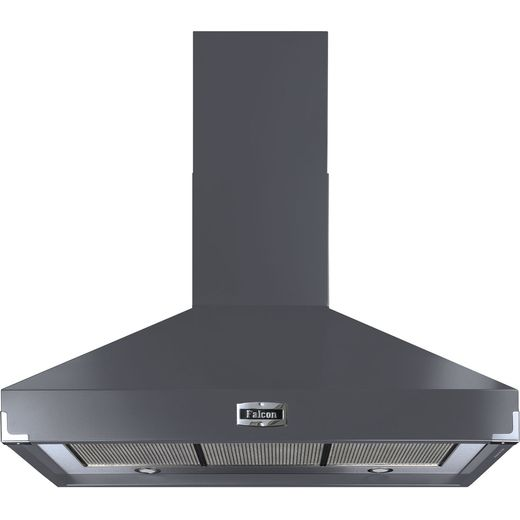 Falcon FHDSE900SL/N 90 cm Chimney Cooker Hood - Slate - A Rated
