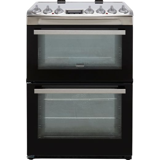 Zanussi ZCV69360XA Electric Cooker with Ceramic Hob - Stainless Steel - A/A Rated