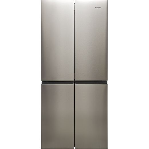 Hisense RQ563N4AI1 American Fridge Freezer - Stainless Steel