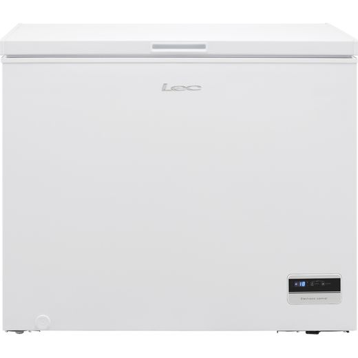 Lec CF250LMk2 Chest Freezer - White - F Rated
