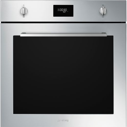 Smeg Cucina SFP6401TVX1 Built In Electric Single Oven - Stainless Steel - A+ Rated