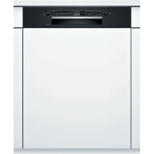 Bosch Serie 2 SMI2ITB33G Semi Integrated Standard Dishwasher - Black Control Panel - A+ Rated
