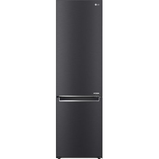 LG Centum™ GBB92MCBAP 70/30 Frost Free Fridge Freezer - Matte Black - A Rated