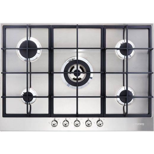 Smeg Classic PX375 Built In Gas Hob - Stainless Steel
