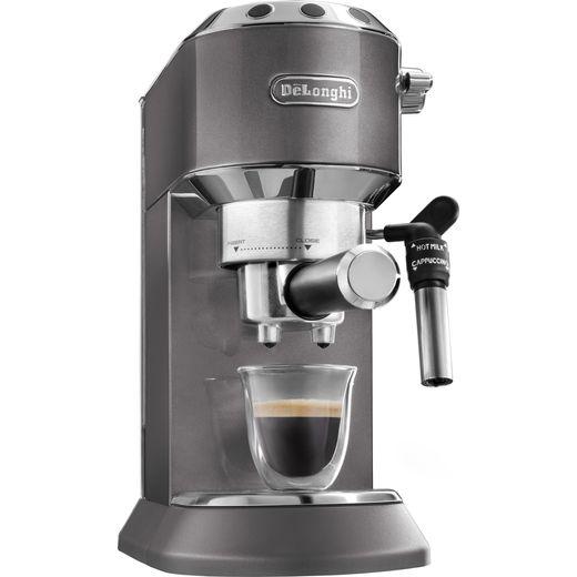 De'Longhi Dedica Metallics Collection EC785.GY Espresso Coffee Machine - Grey