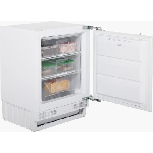 Stoves INTFRZ Integrated Under Counter Freezer with Fixed Door Fixing Kit - F Rated