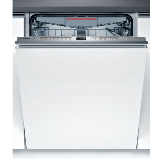 Bosch Serie 6 SMV68ND00G Fully Integrated Standard Dishwasher - Stainless Steel Control Panel with Fixed Door Fixing Kit - D Rated