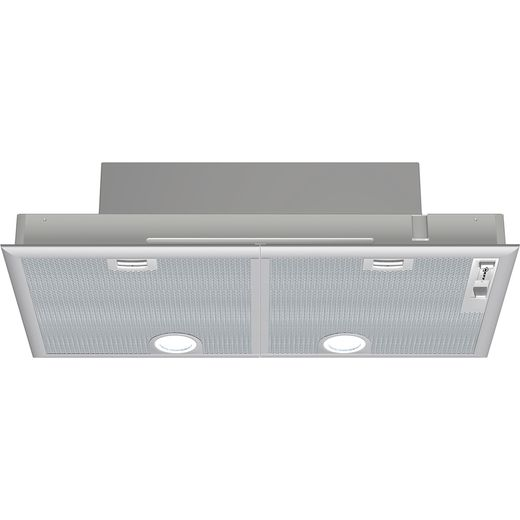NEFF N30 D5855X1GB 73 cm Canopy Cooker Hood - Silver - C Rated