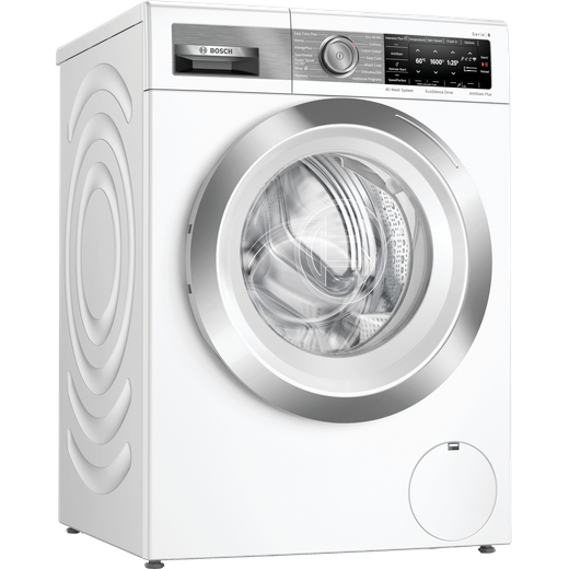 Bosch Serie 8 WAX32GH4GB Wifi Connected 10Kg Washing Machine with 1600 rpm - White - C Rated