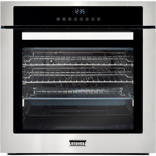 Stoves SEB602TCC Built In Electric Single Oven - Stainless Steel