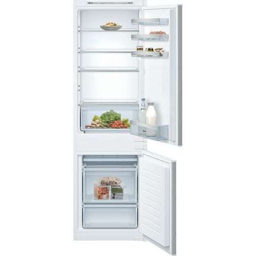 NEFF N50 KI5862SF0G Integrated 70/30 Fridge Freezer with Sliding Door Fixing Kit - White - F Rated