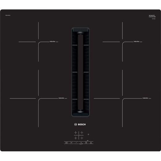 Bosch Serie 4 PIE811B15E 80cm Venting Induction Hob - Black