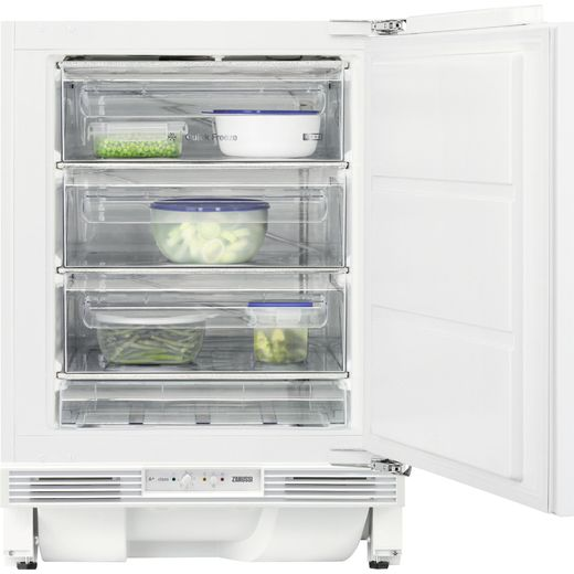 Zanussi ZYAK82FR Integrated Under Counter Freezer with Fixed Door Fixing Kit - F Rated