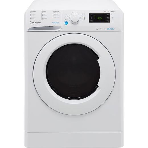 Indesit BDE1071682XWUKN 10Kg / 7Kg Washer Dryer with 1600 rpm - White - E Rated