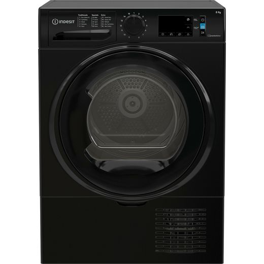 Indesit I3D81BUK Condenser Tumble Dryer - Black - B Rated