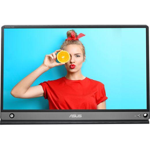 "Asus ZenScreen Touch MB16AMT Full HD 15.6"" 60Hz Portable Monitor - Dark Grey"