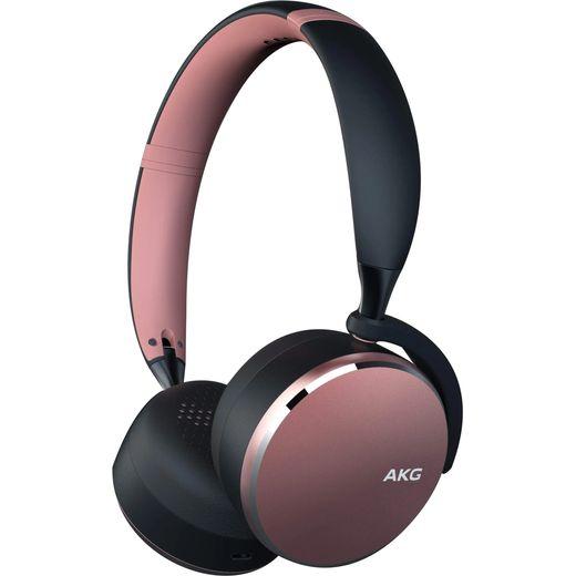 AKG Y500 Over-Ear Wireless Bluetooth Headphones - Pink