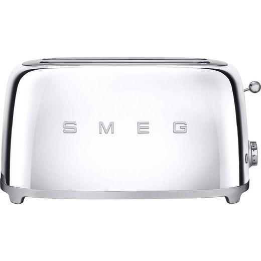 Smeg 50's Retro TSF02SSUK 4 Slice Toaster - Chrome