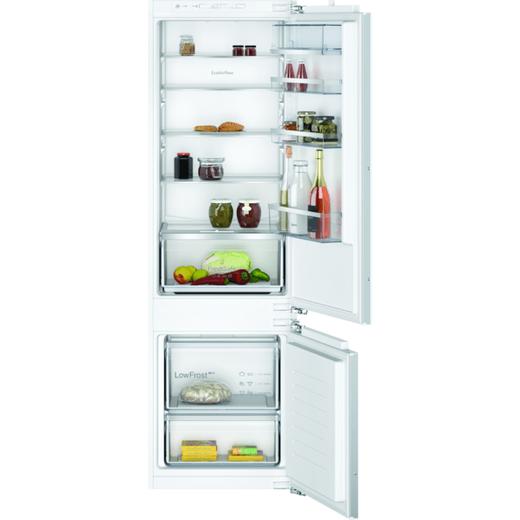 NEFF N50 KI5872FE0G Integrated 70/30 Fridge Freezer with Fixed Door Fixing Kit - White - E Rated