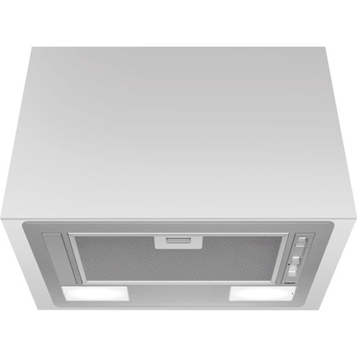 Hotpoint PCT64FLSS 53 cm Canopy Cooker Hood - Silver - C Rated
