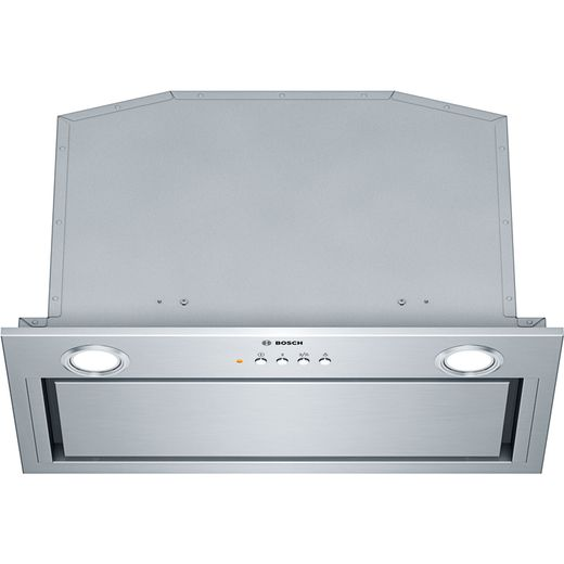 Bosch Serie 6 DHL575CGB 52 cm Canopy Cooker Hood - Brushed Steel - C Rated