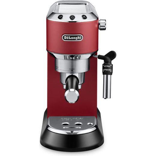 De'Longhi Dedica Traditional Pump EC685.R Espresso Coffee Machine - Red