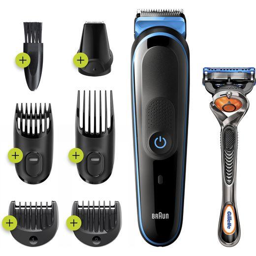 Braun All-in-one Trimmer 3 Multi Groomer Black / Blue