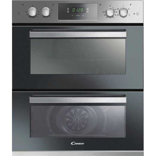 Candy FC7D405X Built Under Electric Double Oven - Stainless Steel