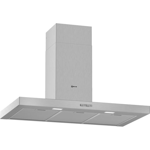 NEFF N30 D92BBC0N0B 90 cm Chimney Cooker Hood - Stainless Steel - D Rated