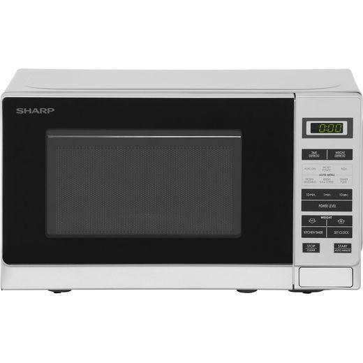 Sharp R220SLM 20 Litre Microwave - Silver