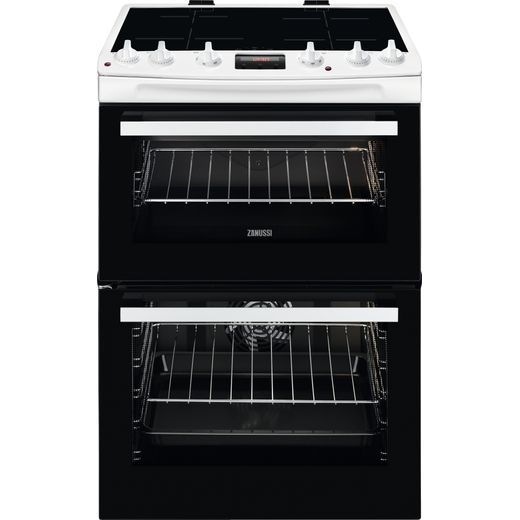 Zanussi ZCI66280WA Electric Cooker with Induction Hob - White - A Rated