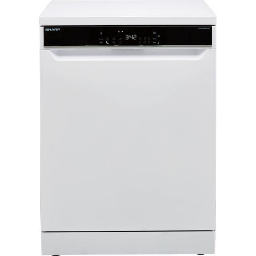 Sharp QW-NA31F45EWO-EN Standard Dishwasher - White