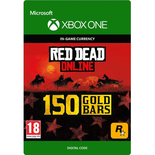 Red Dead Redemption 2 150 Gold Bars For Xbox One Digital Download