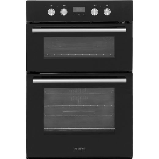 Hotpoint Class 2 DD2844CBL Built In Electric Double Oven - Black - A/A Rated