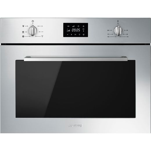 Smeg Cucina SF4400MCX Built In Electric Single Oven - Stainless Steel