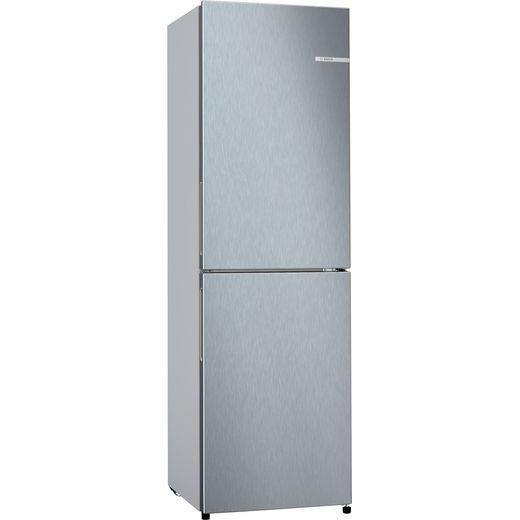 Bosch Serie 2 KGN27NLFAG Frost Free Fridge Freezer - Silver - F Rated