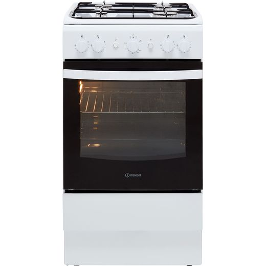Indesit Cloe IS5G1KMW 50cm Gas Cooker - White - A Rated