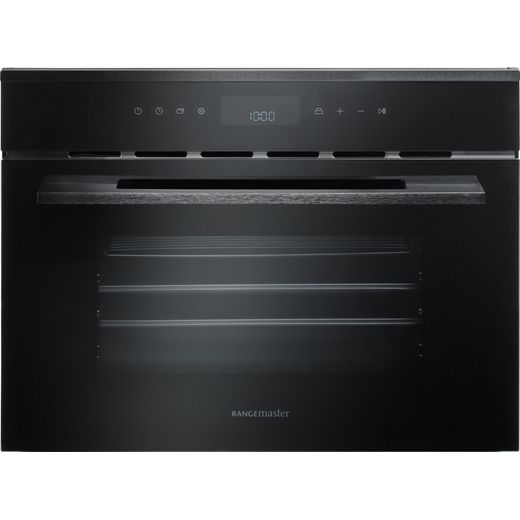 Rangemaster Eclipse ECL45SCBL/BL Built In Compact Steam Oven - Black