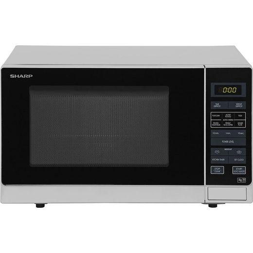 Sharp R372SLM 25 Litre Microwave - Silver