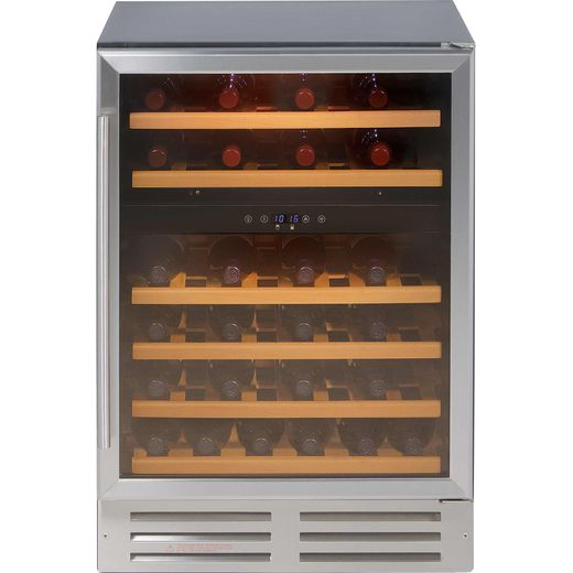Belling Unbranded 600SSWC Built In Wine Cooler - Stainless Steel - G Rated
