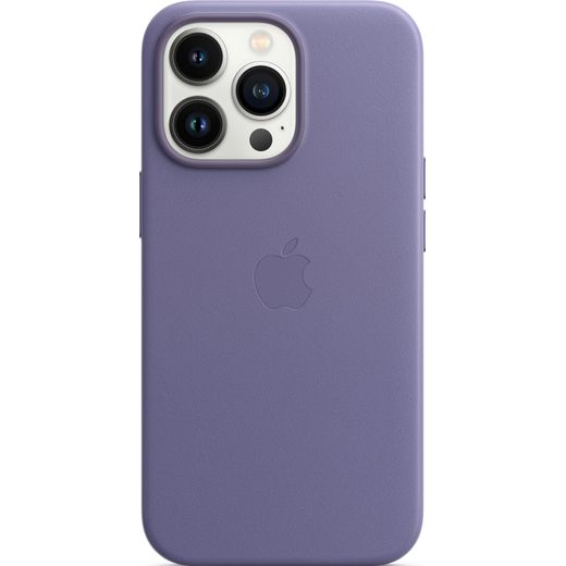 Apple Leather Case with Magsafe for iPhone 13 Pro - Wisteria