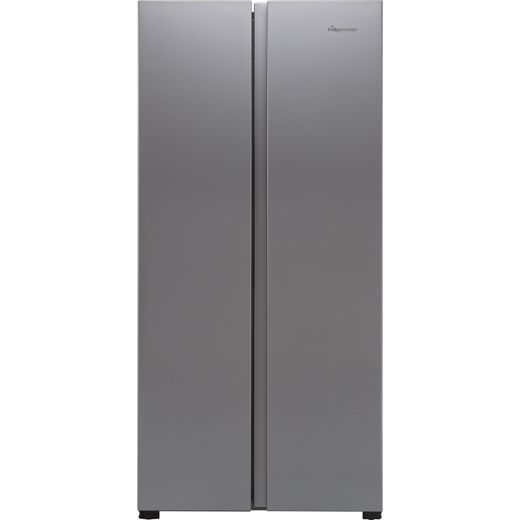Fridgemaster MS83430FFS American Fridge Freezer - Silver